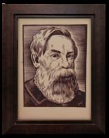 Gönczi-Gebhardt Tibor (1902-1994) Engels Frigyes II. - Kommunizmus szellemi atyjait ábrázoló sorozat