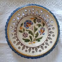 Bozsik Kálmán népi fali tányér