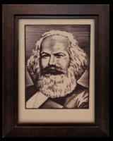 Gönczi-Gebhardt Tibor (1902-1994) Marx Károly I. - Kommunizmus szellemi atyjait ábrázoló sorozat