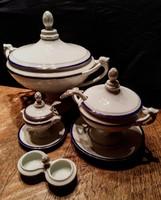 SCHLAGGENWALD porcelán készlet, hibátlan, jelzett