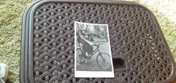 Ritkaság! Budapest székesfőváros állat-és növénykertje- Kerékpározó csimpánzok.. - 30-as évek vége!