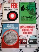Autó diagnosztikai, gépjárművek korrózió védelme,