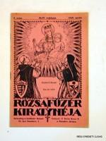 1928 április  /  RÓZSAFŰZÉR KIRÁLYNÉJA  /  RÉGI EREDETI ÚJSÁG Ssz.:  5482