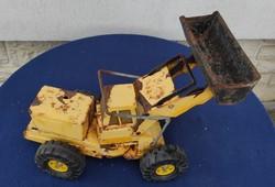 Nagy méretű Lemez,vas Tonna jelzett , markolós, traktor ahogy a fotókon látható