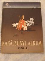 Karácsonyi album 1940-1941- Kotta album