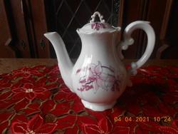 Zsolnay Orchidea mintás kávé kiöntő