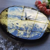Epoxy Gyanta Arany-fekete óra