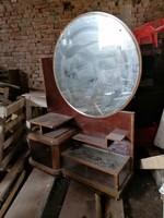 Art deco fesülködő asztal szekrény