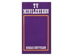 Tv minilexikon  Műszaki Könyvkiadó Hibátlan állapotú könyv