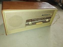 VELENCE DE LUXE antik rádió