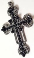 Gyönyörű, antik kereszt - medálként hordható