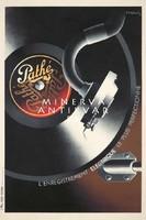 Art deco hanglemez bakelit vinyl lemez lejátszó zene reklám 1932 Vintage/antik plakát reprint