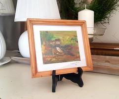 Dézsi Éva festmény