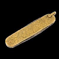 Arany bicska manikűrollóval