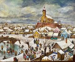Polya Tibor 100*80 cm