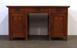 1D847 Antik szecessziós íróasztal 142 cm