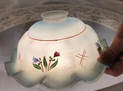 Gyönyörű antik làmpa búra, konyha làmpa, csillàr búra,viràg mintàkkal kézi festett