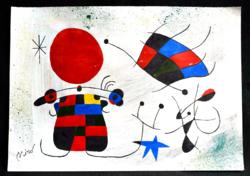 Joan Miró, leárazásnál nincs felező ajánlat!