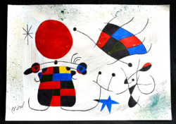 Joan miró, there is no halving offer at a discount!