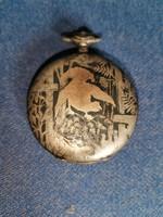 Brauswetter János zsebóra tok-ezüst 1905