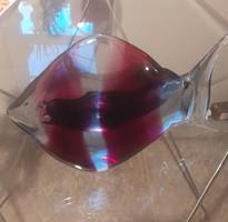 Muranoi üveghal 22cm