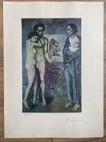 Pablo Picasso eredetigazolással