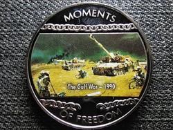 Libéria A szabadság pillanatai Az Öbölháború - 1990 10 Dollár 2004 PL (id47388)