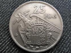 Spanyolország Francisco Franco (1936-1975) 25 Peseta 1957 (1969) (id36198)