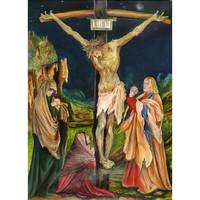 Matthias Grünewald: The Small Crucifixion (festménymásolat)