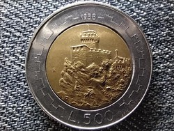 San Marino Erődítmények 500 Líra 1988 R (id47419)