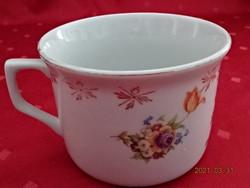WILHELMS BURGER porcelán Ausztria. Antik pohár, átmérője 11 cm.