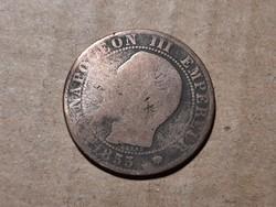 Francia lll. Napóleon 1855 !!