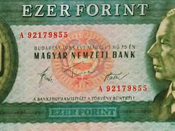 1983 MÁRCIUS - 1000 FORINT - A LEGELSŐ SZÉRIÁBÓL