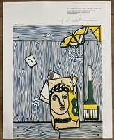 Roy Lichtenstein eredetigazolással