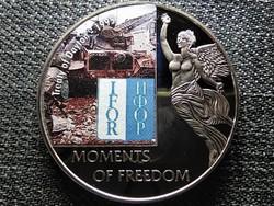 Libéria A szabadság pillanatai Daytoni szerződés - 1995 10 Dollár 2006 PL (id47369)