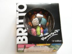 Romero Britto 1st edition mini terrier pop art figura dobozban