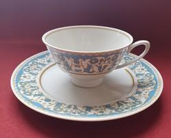Lettin német porcelán reggeliző szett hiányos 2 részes (csésze, kistányér)