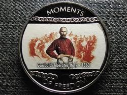Libéria A szabadság pillanatai Garibaldi forradalma Olaszország - 1860 10 Dollár 2004 (id47389)