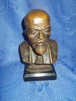 régi nagy  bronz lenin szobor 4,5kg