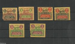 Ohio - városi-bélyeg U.S.A.-adóbélyeg