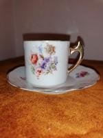Hüttl Tivadar, kávés csésze