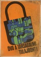4 db munkavédelmi plakát (1970 körüli)