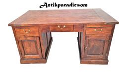 A302 Tömör teak fa íróasztal
