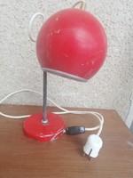Retro mid century Elektrofém márkájú fém asztali lámpa