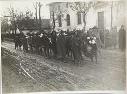 5 db Horthy korabeli temetési fénykép (1930-as évek)