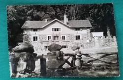 Salgótarján, Salgó menedékház fekete-fehér képeslap 1959