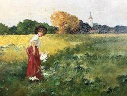 Neogrády Antal Virágszedő
