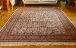 Nagy kézi Bijar szőnyeg jó állapotban eladó