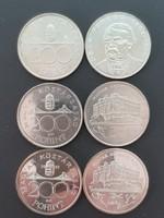 Ezüst 200 Ft sor 1992-1993-1994 FINE