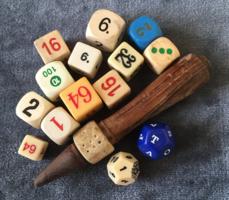Különleges játék kockák